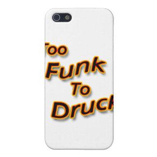 Auch Funk zu betrunkenem hellem iPhone 5 Schutzhüllen