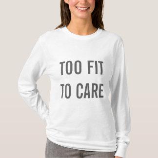 Auch gepasst zur Sorgfalt T-Shirt