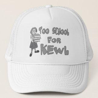 Auch Schule für Kewl Truckerkappe