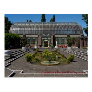 Auckland-Gebiets-Winter-Gärten Postkarte