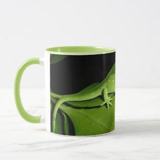 Auckland grüner Gecko Tasse