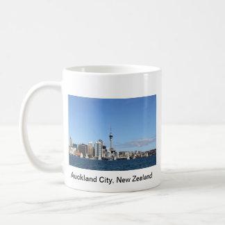 Auckland-Stadt, Neuseeland bis zum Tag Kaffeetasse