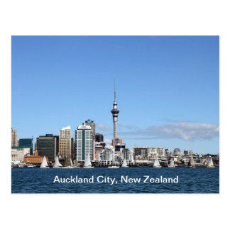 Auckland-Stadt, Neuseeland bis zum Tag Postkarten