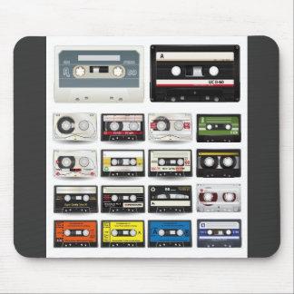 Audio--Kassette-Vektor-Sammlung AUDIOkassetten Mauspad