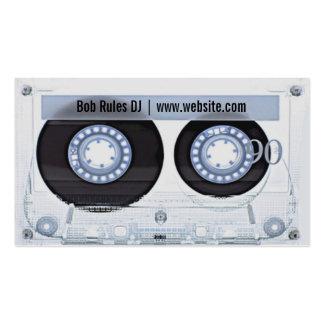 Audiokassette DJ-Visitenkarte Visitenkarten