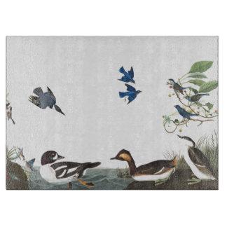 Audubon Collagen-Vogel-Tier-Tier-Schneidebrett Schneidebrett