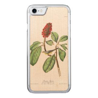 Audubon Platte 5 Bonapartes Flycatcher Carved iPhone 8/7 Hülle