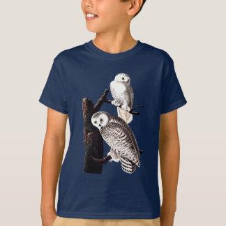 Audubon Snowy Eulen-Shirt, Jugend T-Shirt