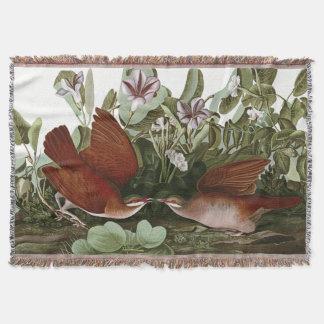 Audubon Tauben-Vogel-Tier-TierWurfs-Decke Decke