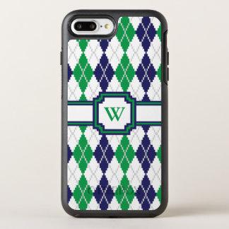 Auf dem grünen Raute Otterbox Telefon-Kasten OtterBox Symmetry iPhone 8 Plus/7 Plus Hülle