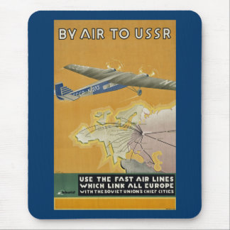 Auf dem Luftweg nach UDSSR Mousepads