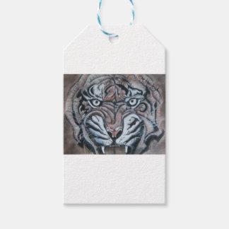 Auf dem Rand-Tiger Geschenkanhänger