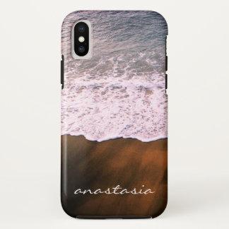 auf dem Strand iPhone X Hülle