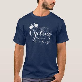 auf der ganzen Erde radfahren T-Shirt