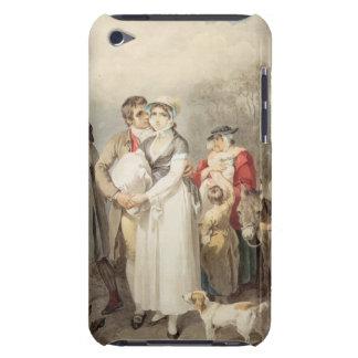Auf der Straße 1799 (w/c über Spuren des Bleistift Barely There iPod Case