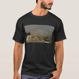 Auf der Ufergegend in Palermo durch Franz Richard T-Shirt