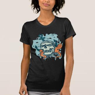 Auf der Unterseite des Meeres T-Shirt