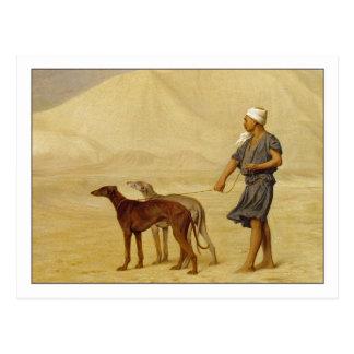 Auf der Wüste durch Jean-Leon Gerome Postkarte