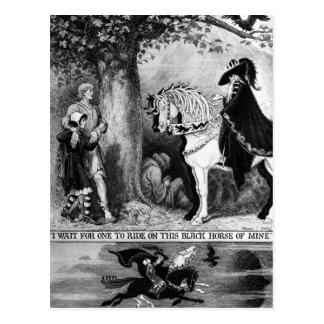 Auf einem blassen Pferd Postkarten