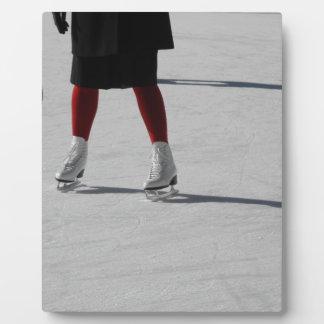 Auf Eis Fotoplatte