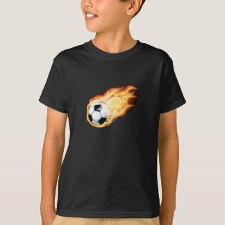 Auf Feuer für Fußball-Shirt T-Shirt