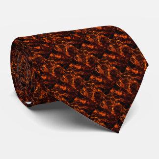 """""""Auf Feuer """" Krawatte"""