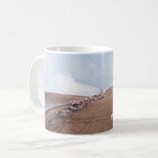 Auf Gipfel der Spiess-Spitze Kaffeetasse