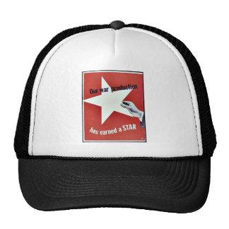 Auf Krieg hat Produktion einen Stern erworben Truckercap