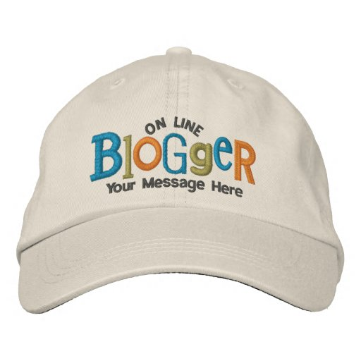 Auf Linie Blogger personifizieren Sie Stickerei-Hu Bestickte Mütze