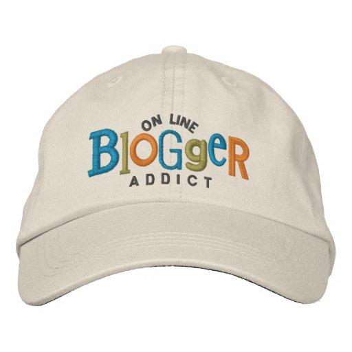 Auf Linie Blogger-Süchtig-Stickerei-Hut Bestickte Caps