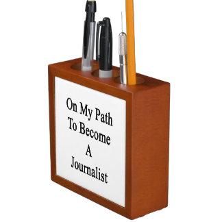 Auf meinem Weg, zum ein Journalist zu werden