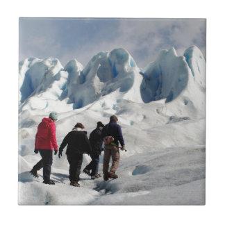 Auf Perito Moreno Gletscher gehen, Argentinien Fliese