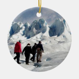 Auf Perito Moreno Gletscher gehen, Argentinien Keramik Ornament