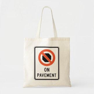 Auf Plasterungs-Zeichen-Taschen-Tasche Tragetasche