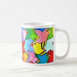 Auf und ab Vogel-Tasse Kaffeetasse