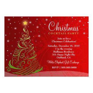AUF VERKAUF Sternenklare Nachtweihnachten laden Einladungskarten