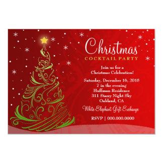 AUF VERKAUF! Sternenklare Nachtweihnachten laden 12,7 X 17,8 Cm Einladungskarte