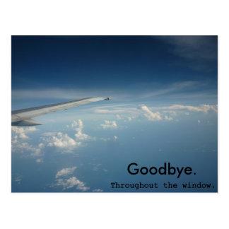 Auf Wiedersehen Postkarte