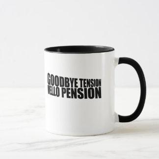 Auf Wiedersehen Spannungshallo Pension Tasse