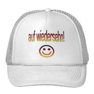 Auf Wiedersehn! Deutsche Flaggen-Farben Caps