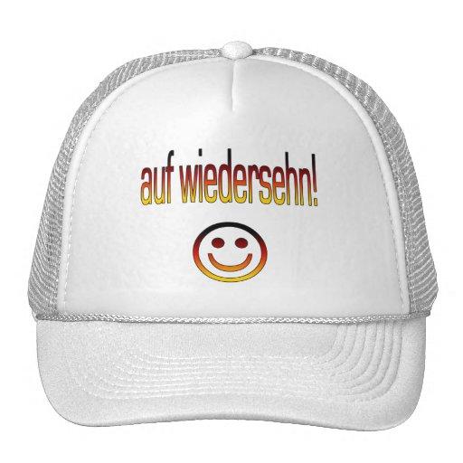 Auf Wiedersehn! Deutsche Flaggen-Farben Retrokappen