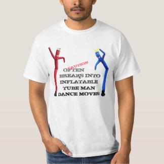 Aufblasbarer Tänzer T-Shirt