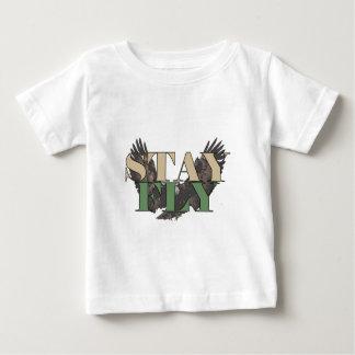 Aufenthalt-Fliege - Weißkopfseeadler - Jäger-Grün Baby T-shirt