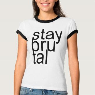AUFENTHALT GROBES T-Stück T-Shirt