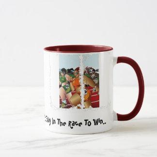 Aufenthalt in der Rennen-Tasse Tasse