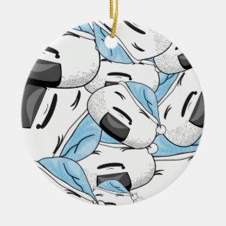 Aufenthalt nah an mir - Traum Rundes Keramik Ornament
