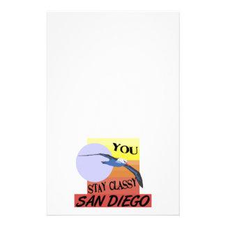 Aufenthalt nobles San Diego Briefpapier