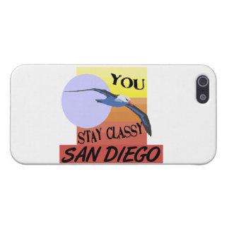 Aufenthalt nobles San Diego Hülle Fürs iPhone 5