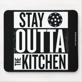 """""""Aufenthalt Outta die Küche"""" Pickleball Mousepad"""