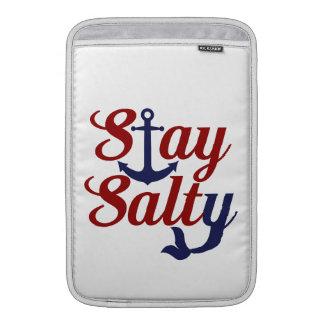 Aufenthalt-salzige Seekunst Sleeve Fürs MacBook Air